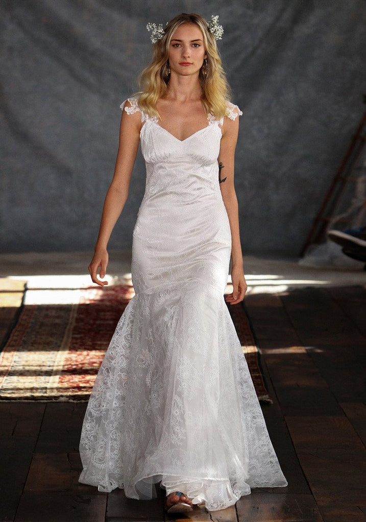 Rosemary Lace Bridal Gown Romantique Claire Pettibone
