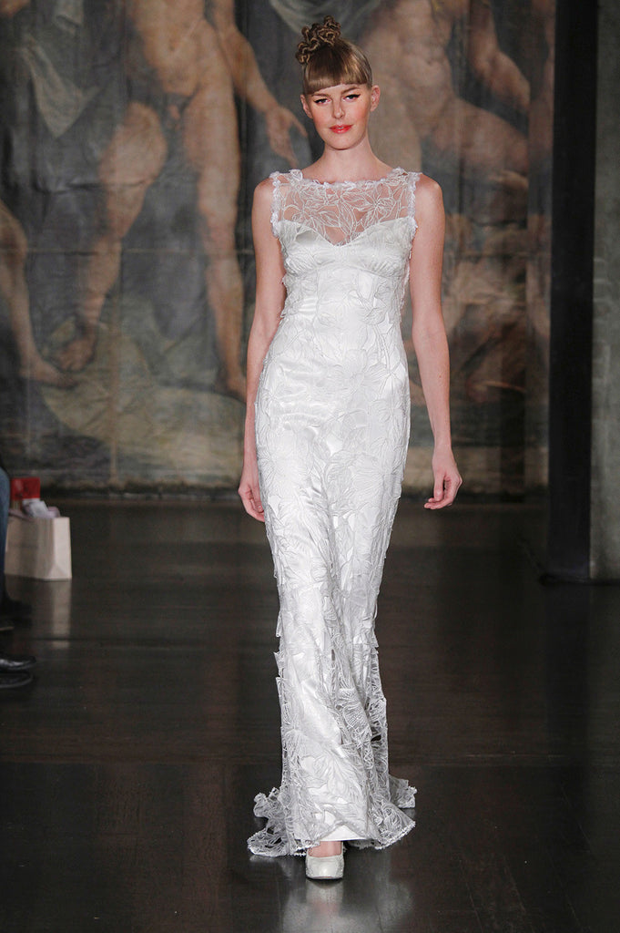 Sky Between the Branches - Wedding Dress by Claire Pettibone