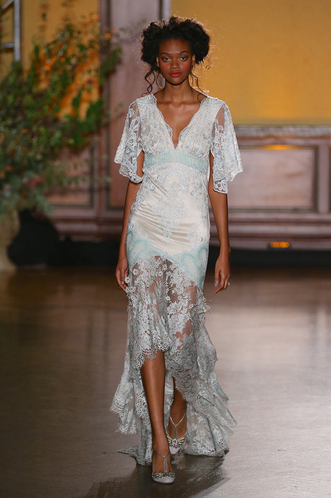 Sylvie - Wedding Dress by Claire Pettibone runway