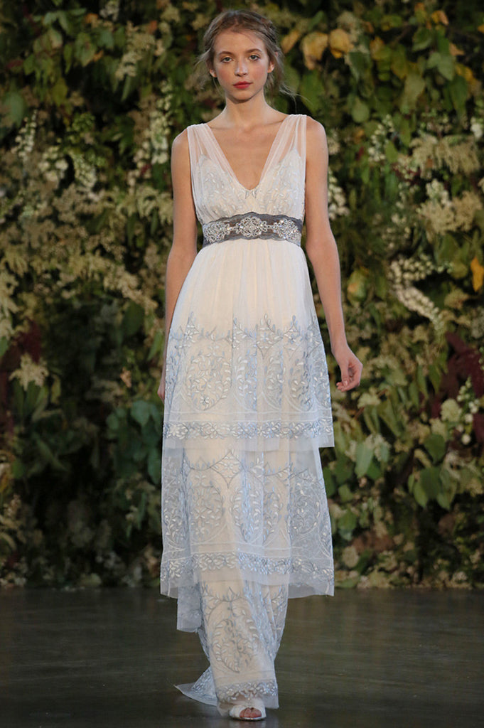 Trinity - Wedding dress by Claire Pettibone runway