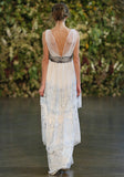 Trinity - Wedding dress by Claire Pettibone runway back