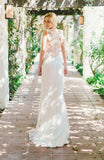 Sky Between the Branches - Wedding Dress by Claire Pettibone styled