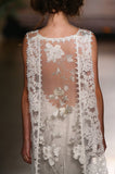 Whitney - Wedding Dress by Claire Pettibone runway back detail