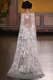 Whitney - Wedding Dress by Claire Pettibone runway back