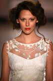Whitney - Wedding Dress by Claire Pettibone runway close up