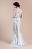 Willow - Wedding Dress by Claire Pettibone back