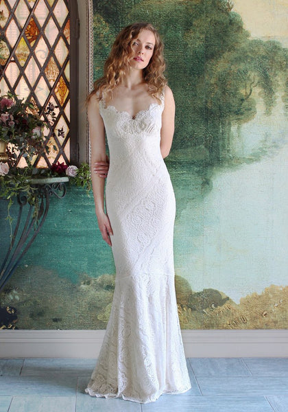 Wyoming Lace Bridal Gown Romantique Claire Pettibone