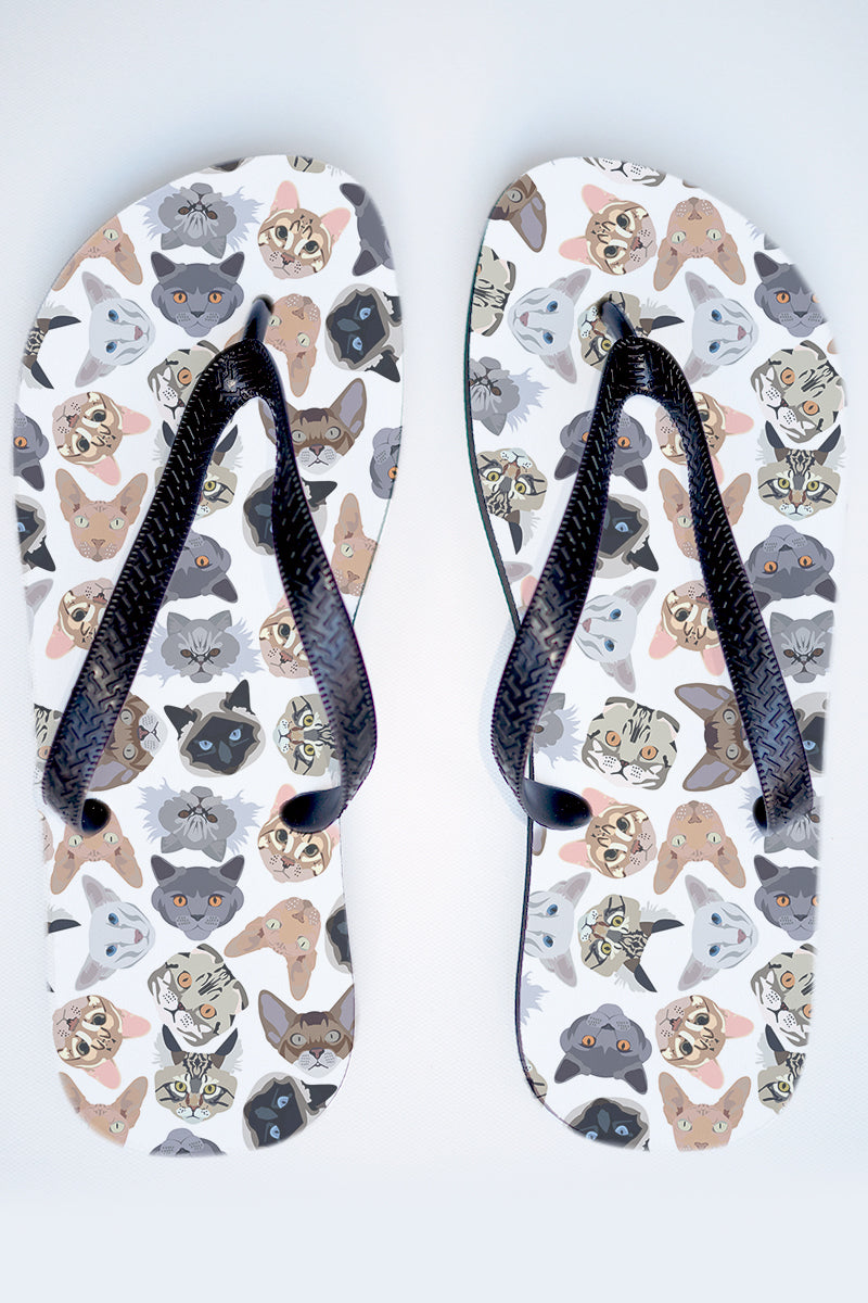 8178f920d750 Flip Flop Cartoon Cat White Thongs.jpg v 1536810282