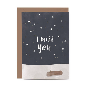 I Miss You Gift Card