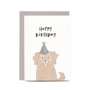 Birthday Dog Gift Card