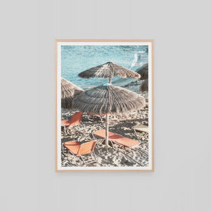 Holiday In Greece Framed Print