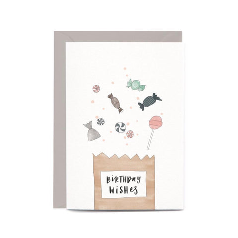 Birthday Lolly Bag Gift Card