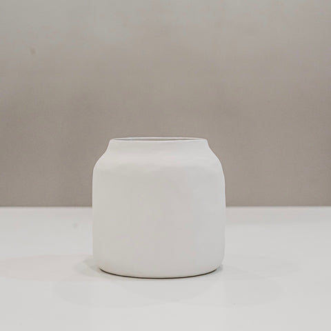 Flax Kitchen Pot White small