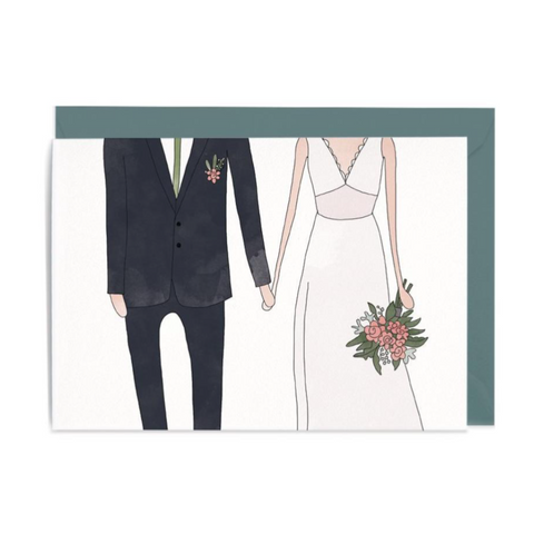 Wedding Man & Women Gift Card