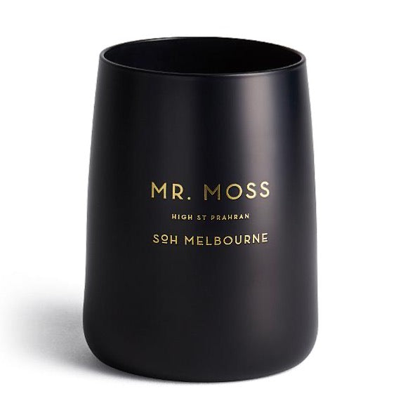 Mr Moss Black Candle