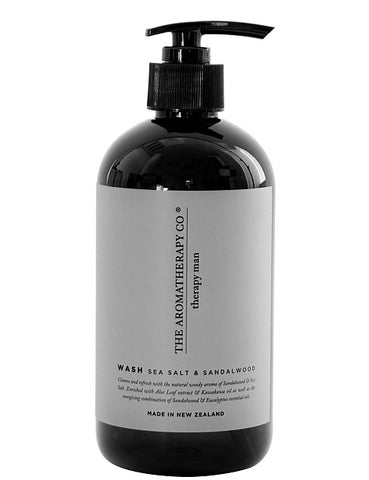 Therapy Man Hand & Body Wash - Sandalwood & Sea Salt