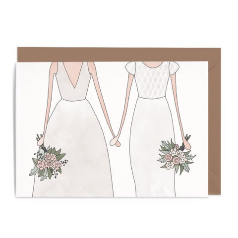 Wedding Woman & Woman Gift Card
