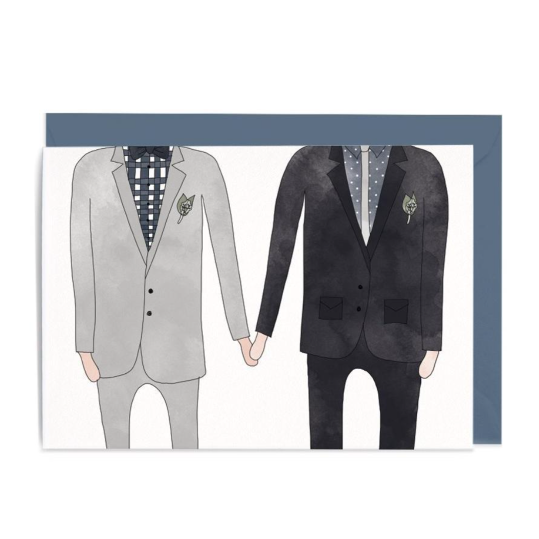 Wedding Man & Man Gift Card