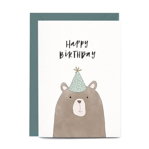 Birthday Bear Gift Card