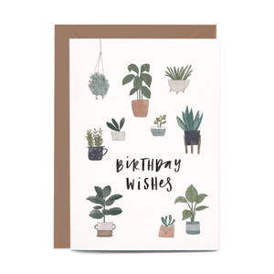 Birthday Potted Plants Gift Card