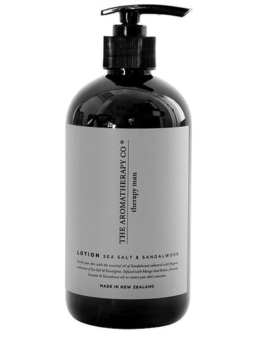 Therapy Man Hand & Body Lotion - Sandalwood & Sea Salt