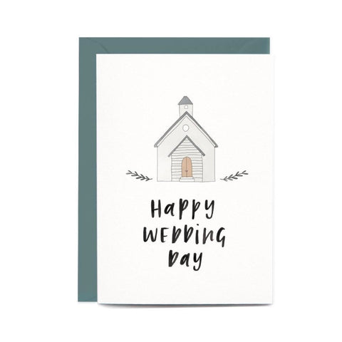 Happy Wedding Day Chapel Gift Card