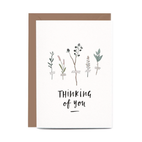 Thinking Of You Botanic Gift Card