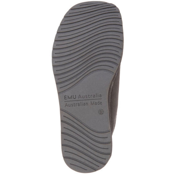 Platinum Esperance Slipper Charcoal