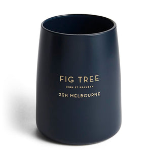 Fig Tree Matte Navy Candle