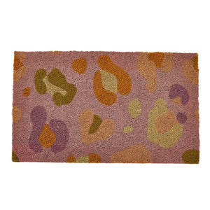 Billy Jute Door Mat Lilac