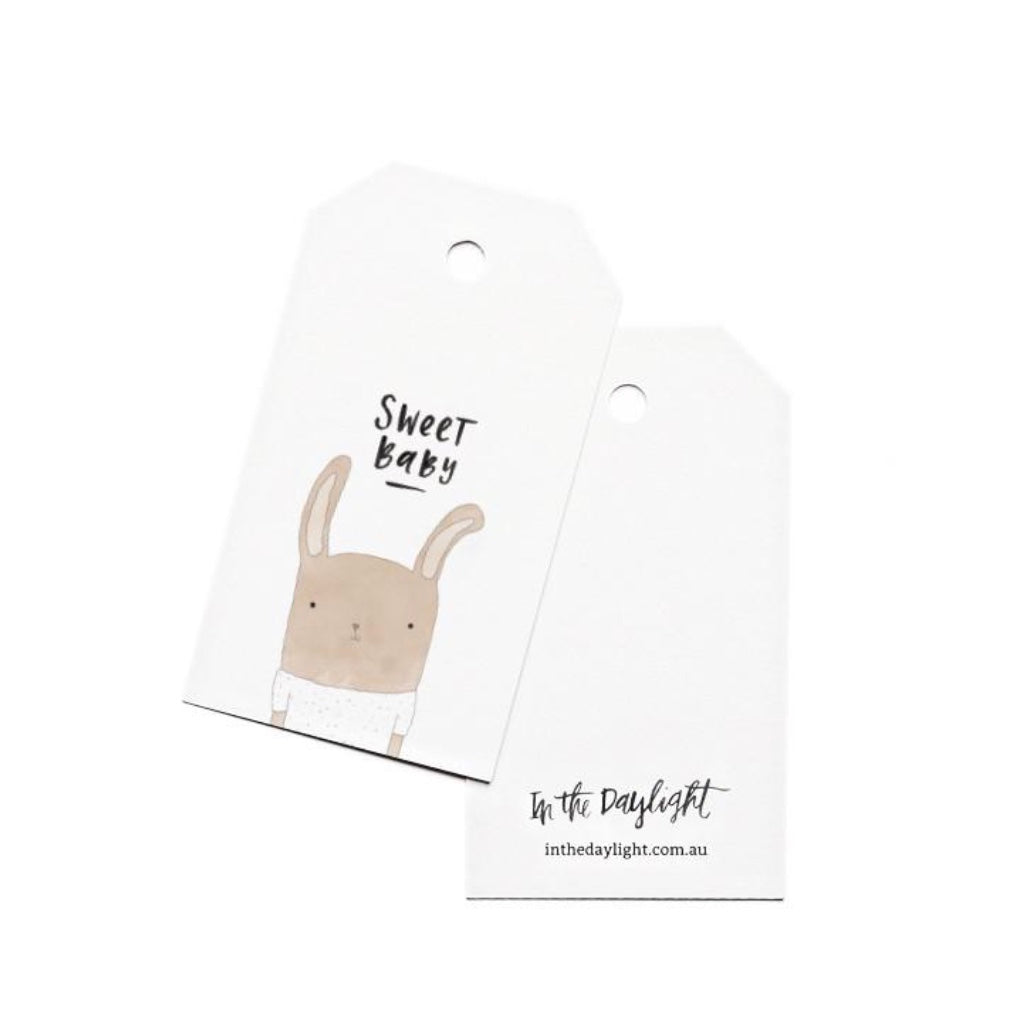 Sweet Baby Gift Tag
