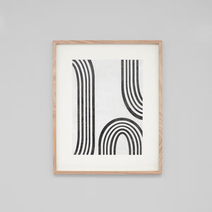 Modern Arc 1 Framed Print