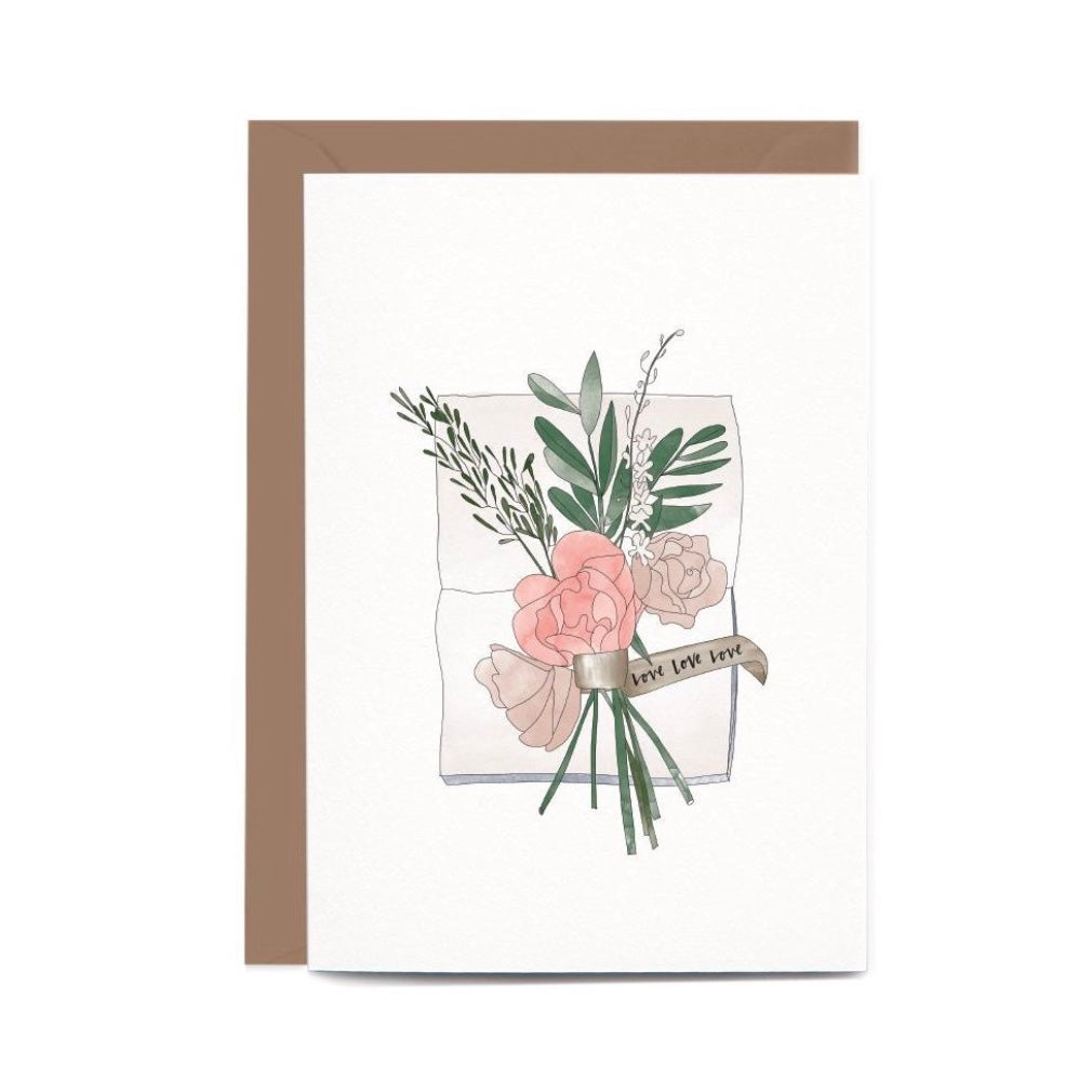 Wedding Flowers Gift Card