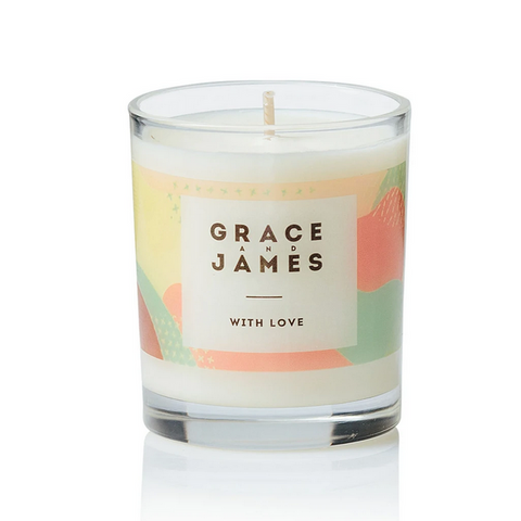 With Love Candle 40 Hour