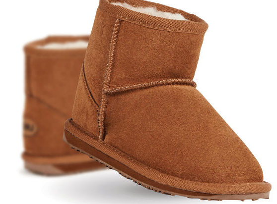 Wallaby Mini Boots Chestnut