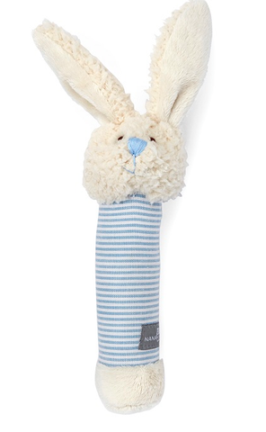 Bella The Bunny Rattle Blue