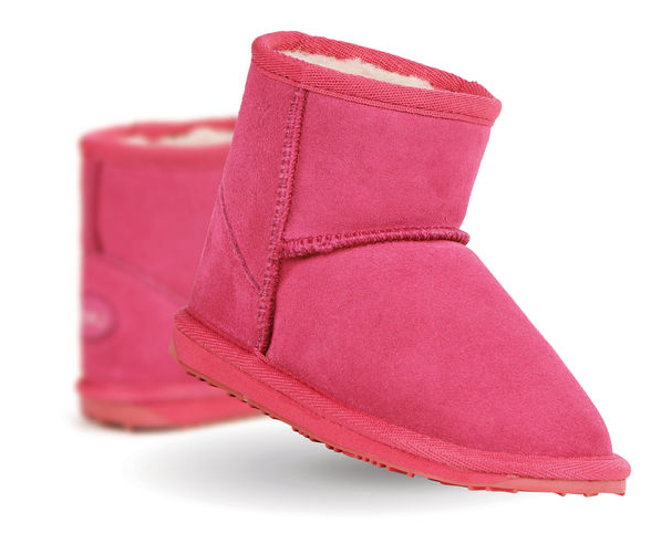 Wallaby Mini Boots Hot Pink