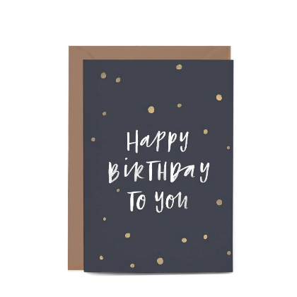 Birthday Confetti Gift Card