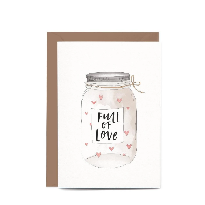 Jar Full of Love Gift Card