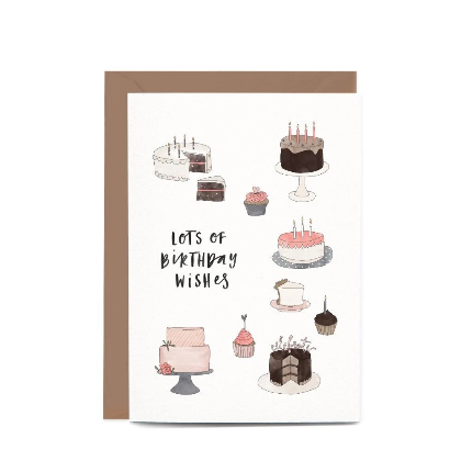 Lots of Birthday Cake Gift Card