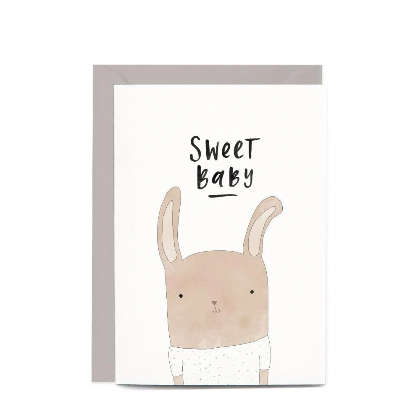 Sweet Baby Rabbit Gift Card