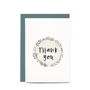 Thank You Wreath Gift Card