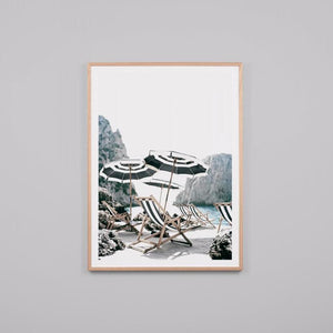 Italian Afternoon Framed Print
