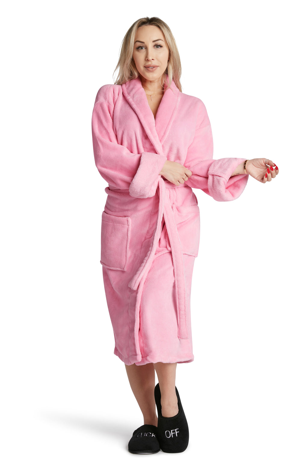 LUXE PLUSH ROBE -Favorite Daughter