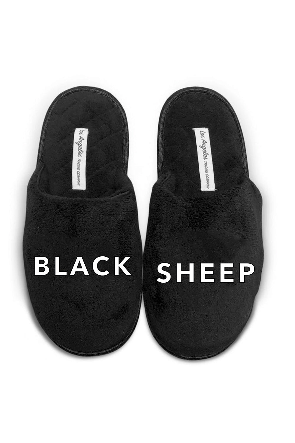 UNISEX SLIPPERS - Black Sheep