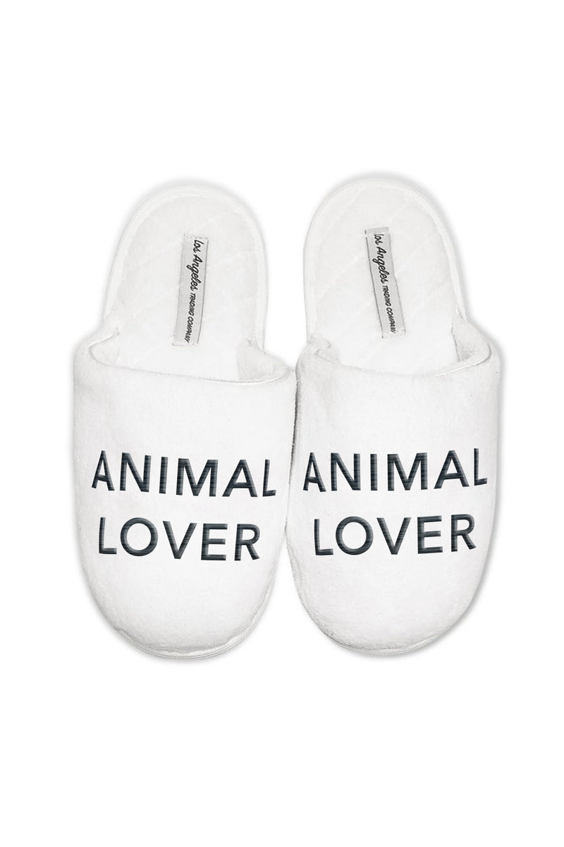 SLIPPERS - Animal Lover