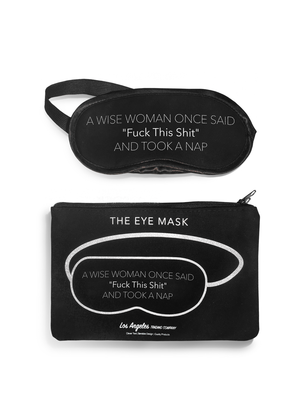 Eye Mask- A Wise Woman