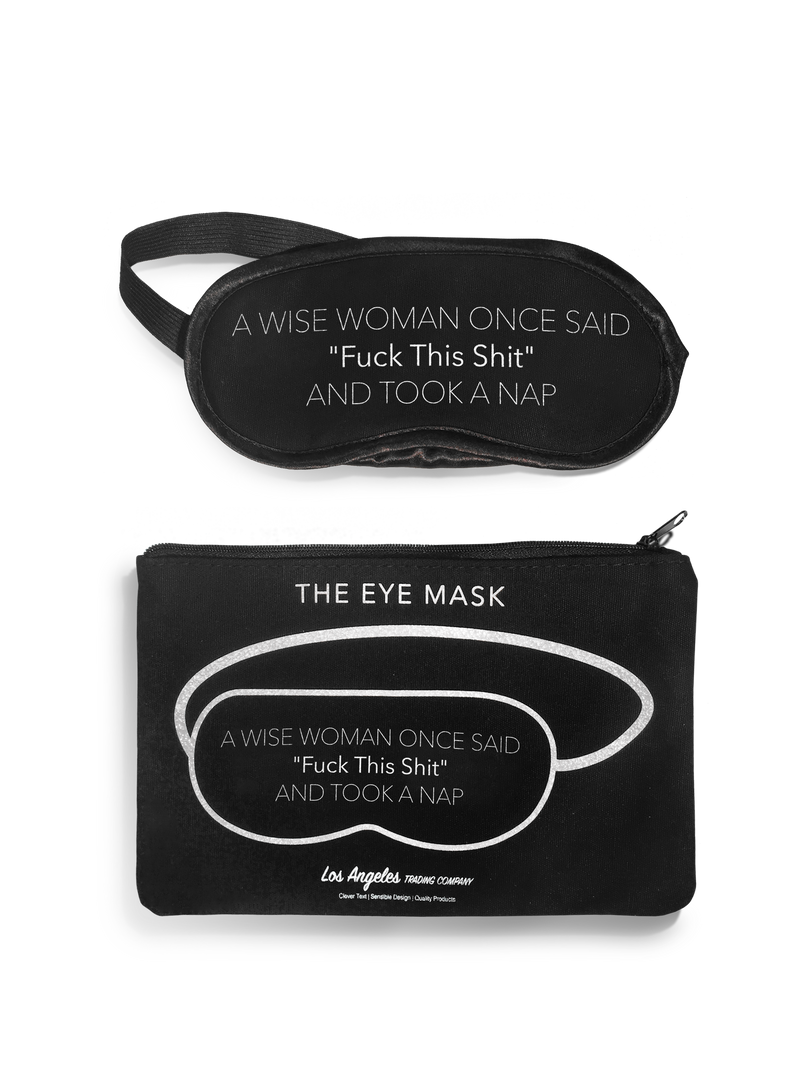 EYE MASK - Wise Woman