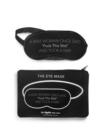 Eye Mask- Cuddle Cat & Take A Nap