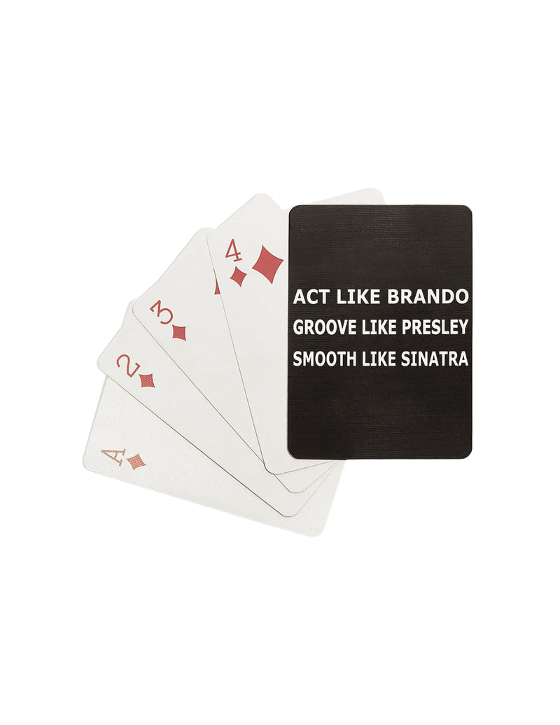 Playing Cards- Act Like Brando